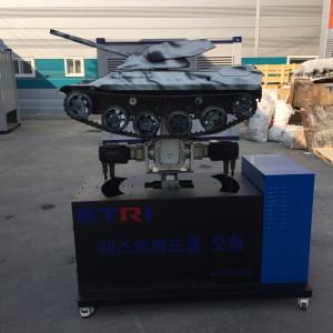 ETRI-3축-모션-테이블-전차-탱크-모형-2
